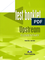 Upstream Elementary A2 Test Booklet PDF