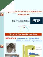 Exposición Laboral a Radiaciones Ionizantes