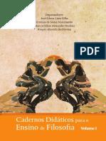 Cadernos Didáticos Para o Ensino de Filosofia - Vol 1 - 2013