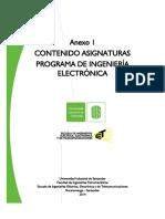 Cantenido Asignaturas Ing. Electronic