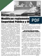 14-06-17 Modifican reglamento regio de Seguridad Pública y Vialidad