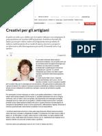 Creativi Per Gli Artigiani - Repubblica