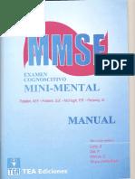 Manual Minimental - Psicopatología