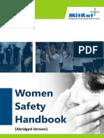 Women Safety Handbook