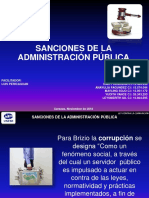 Exposicion Sanciones - Admon Publica