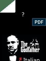 Italian Slang in the Godfather