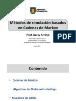 10.1 Simulacion Por Cadenas de Markov