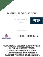 Materiales de Curación.
