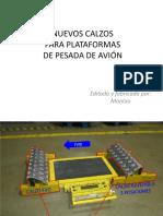 Calzos Para Plataformas de Pesada de Avión