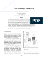 Macro Micro Modeling of Solidification