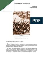 Batalla Del Monte de Las Cruces-CARLOS EDUARDO LINARES ROMERO