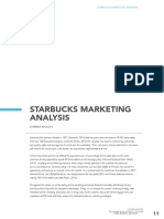 [CRIS - Bulletin of the Centre for Research and Interdisciplinary Study] Starbucks Marketing Analysis