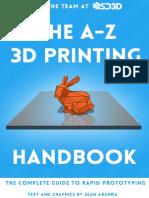 The A-Z 3D Printing Handbook pdf | Amorphous Solid | Printing