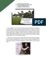 Monumento Ecuestre Batalla Del Monte de Las Cruces 30 de Octubre de 1810-La Marquesa, Edo. de Méx.-CARLOS EDUARDO LINARES ROMERO