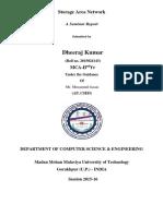 Dheeraj Seminar Report