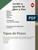 Extraccion y Transporte de Petroleo Diapositivas