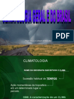 Climatologia Geral e Do Brasil