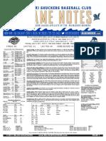 6.15.17 at MOB Game Notes