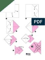 Origami Instrucciones