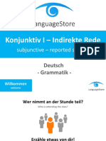 languagestore konjunktivi indirekterede