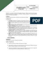 174942577 Procedimiento de Seguridad Para Trabajos de Excavaciones y Zanjas