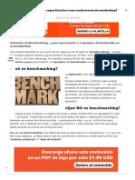Qué Es y Cómo Hacer Benchmarking; 5 Ejemplos de Sustentabilidad - LuisMARAM