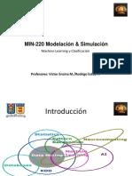 10. MIN220 - Machine Learning y Clasificación