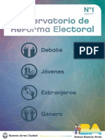 Observatorio de Reforma Electoral 1
