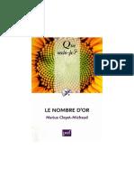 (Que Sais-je) Marius Cleyet-Michaud-Le Nombre d'or-Presses Universitaires France (2009)