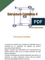 Estructura Cristalina II