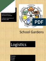 School Gardens Logistics