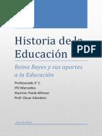 Carpeta Historia de La Educación-Reina Reyes
