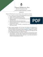Pedido de informes a Jorge Triaca y Juan Carlos Paulicci por nota de El Destape