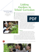 Gardens to School Curriculum