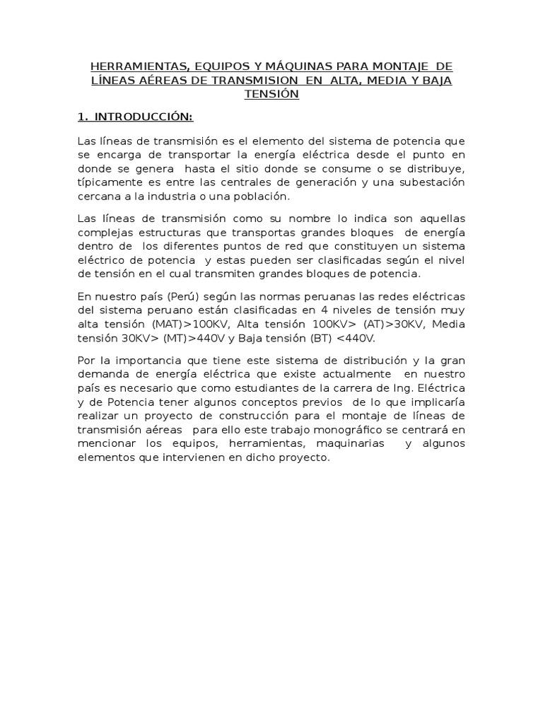 265093173 Herramientas Equipos y Maquinas Para Montaje de Lineas ...