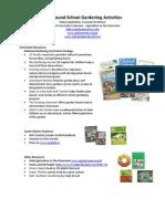 Proposed Gardening Curriculum