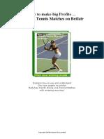 Tennis Tutorial