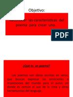 Ppt Poema (Cómo Crear Uno) Clase 2