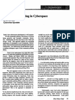 Community Policiing in Cyber Space