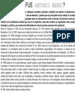 Antonio Berni Resumen