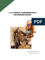 Priego - Topografía Instrumentación y Observaciones Topográficas - UPV - Geomática