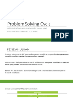 PSC (problem solving cycle) PPT