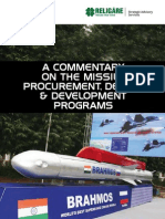 Religare Strategic Advisory Commentary on Missile Programmes