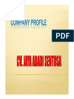 Company Profile JAS Update