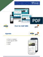 Sapience 20151201 Pwc Fiori for Sap Grc