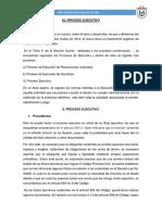 El Proceso Ejecutivo - Rosario
