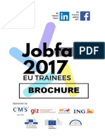 Job Fair Brochure