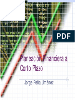 Planeación Financiera Corto Plazo