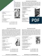 Lecturas Diarias SEMANA 01 y 08 Junio
