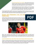 Manchester United Berhasil Rekrut Victor Lindelof